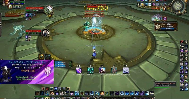 Illustration for article titled Logra superar 138 oleadas de enemigos seguidas en World of Warcraft