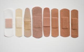 Illustration for article titled Skin Deep: Appreciation for Dark Brown Flesh-Colored Bandage Goes Viral