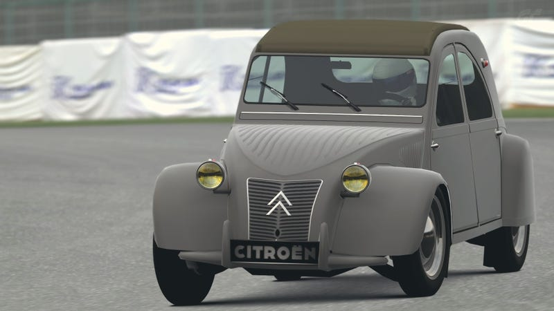 Illustration for article titled '54 Citroën 2CV Type A