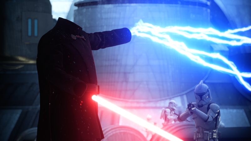 Illustration for article titled Star Wars Battlefront II Modders Are Already Removing Count Dooku's Head