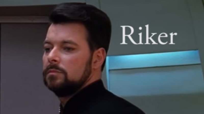 """Illustration for article titled """"Riker"""" reveals the shocking exploits of Star Trek's smarmy second-in-command"""