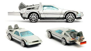 Illustration for article titled Back To The Future DeLorean USB Flash Drive Doesn't Need a Flux Capacitor