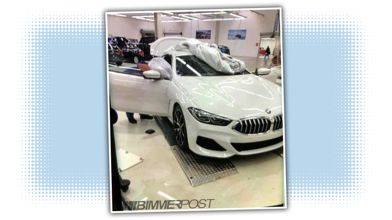 This Is The New BMW Series Way Before Youre Supposed To See It - 8 series bmw
