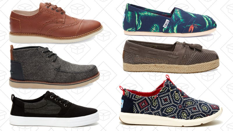 165b7065dd This TOMS Surprise Sale is Up to 80% Off Select Styles