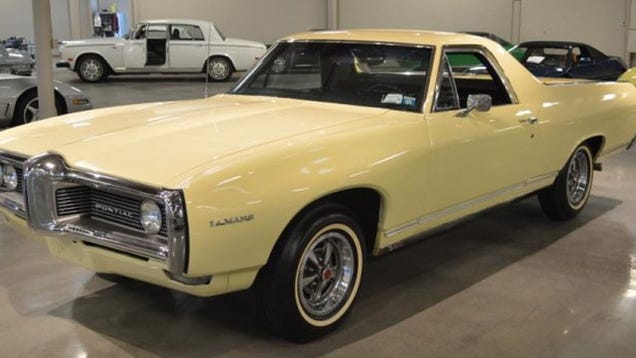 Did You Know There Was At Least One Pontiac El Camino? And ...