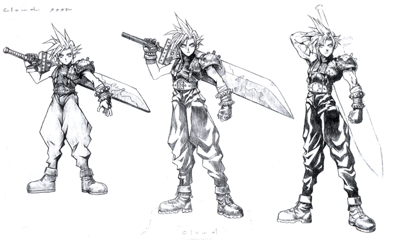 Fantasy Character Design Sheet : The iconic final fantasy art of tetsuya nomura