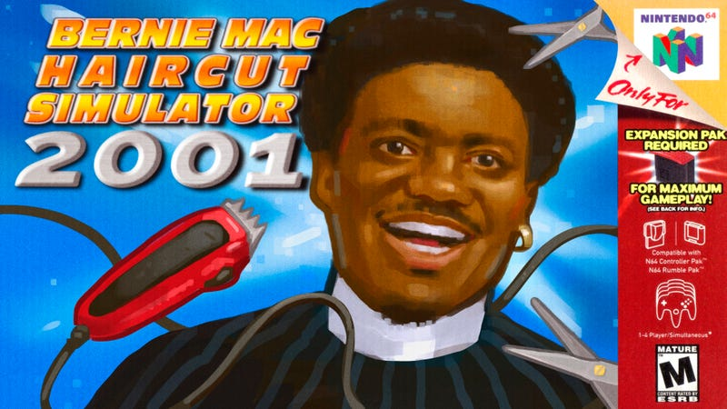 Illustration for article titled The 4 Best N64 Games About Giving Bernie Mac A Haircut