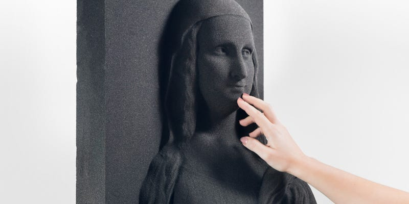 Illustration for article titled These 3D-Printed Pictures Could Help the Blind Experience Classic Art