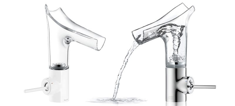 Illustration for article titled A Vortex Faucet Adds Much Needed Excitement To Washing Your Hands