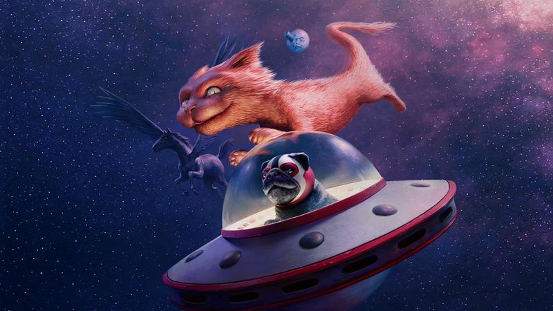 Fantasia's mascots adorn the official 2019 festival poster