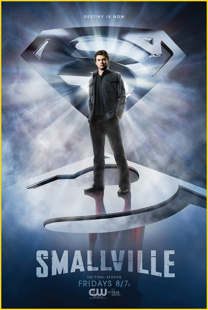 Illustration for article titled Smallville poster
