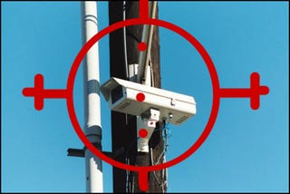 Illustration for article titled Man Shoots Big Brother Right in the Traffic Cam