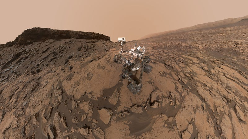 Illustration for article titled Curiosity's Latest Selfie Is an Instant Classic