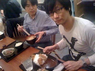 Illustration for article titled What's Hideo Kojima Eating Right Now? Check Twitter!!