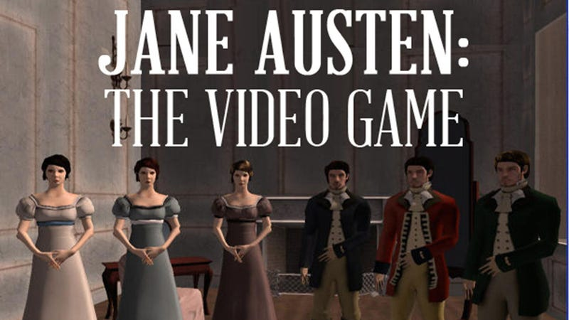 Illustration for article titled Jane Austen Video Game for Those of Us Who Love Romance and RPGs