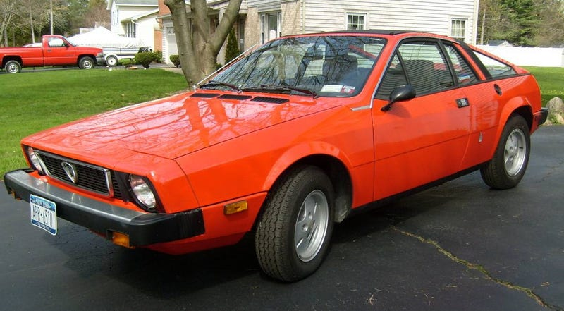 for $5,500, would you want to feel this 1977 lancia scorpion's sting?