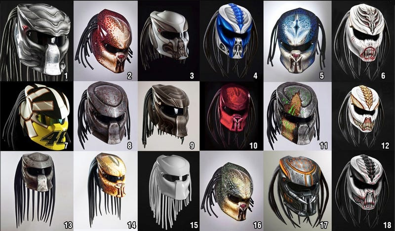 Predator Motorcycle Helmets Because You Ain T Got Time To Bleed