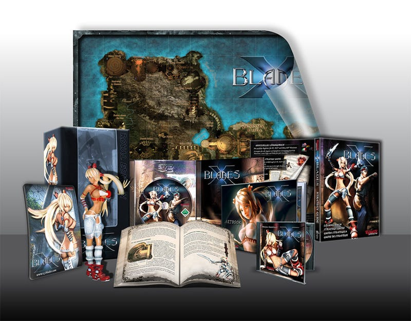 Illustration for article titled X-Blades Collector's Edition Goes Topless