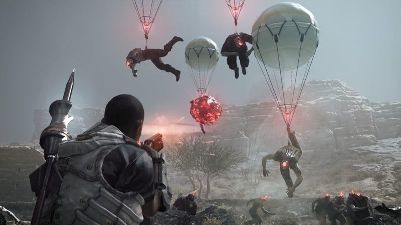 Illustration for article titled The story behind Metal Gear Survive is way more interesting than the game itself
