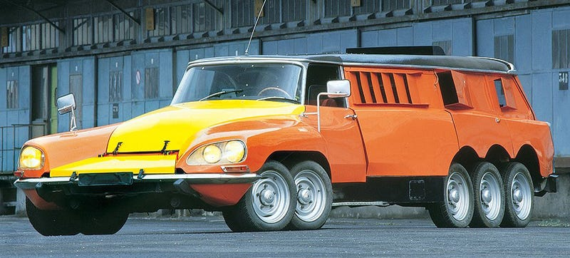 French Car: The Ten Weirdest French Cars Ever Made
