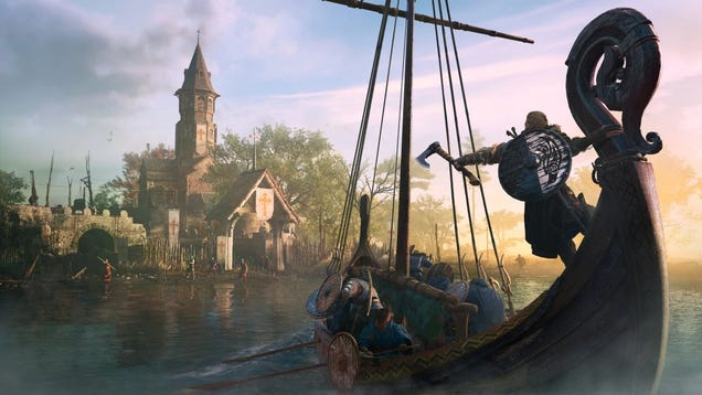 Grab a Digital Copy of Assassin's Creed Valhalla on Xbox for $35 and Enjoy Some Digital Mead