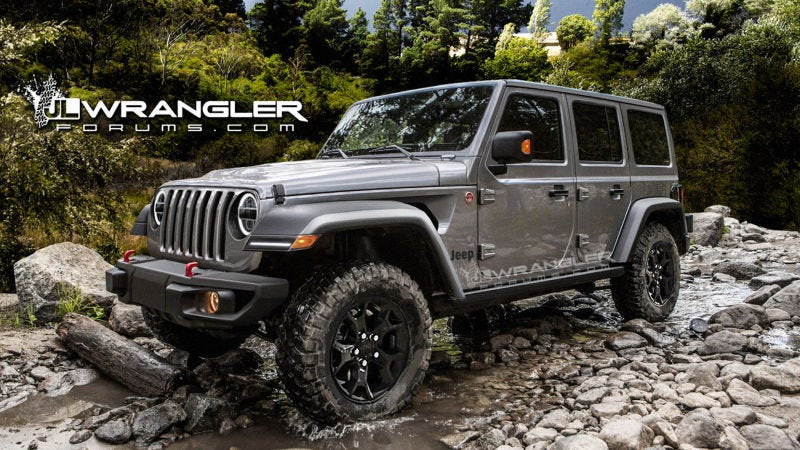 Leaked 2018 Jeep Wrangler Options List Includes A Big Change To The 4WD System