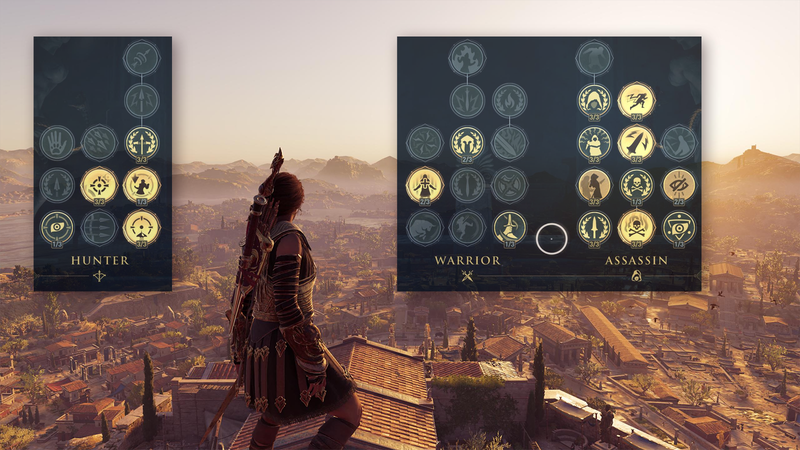 Illustration for article titled Assassin's Creed Odyssey Smartly Refines The Origins Skill Tree