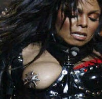 Janet jackson super bowl half time boob
