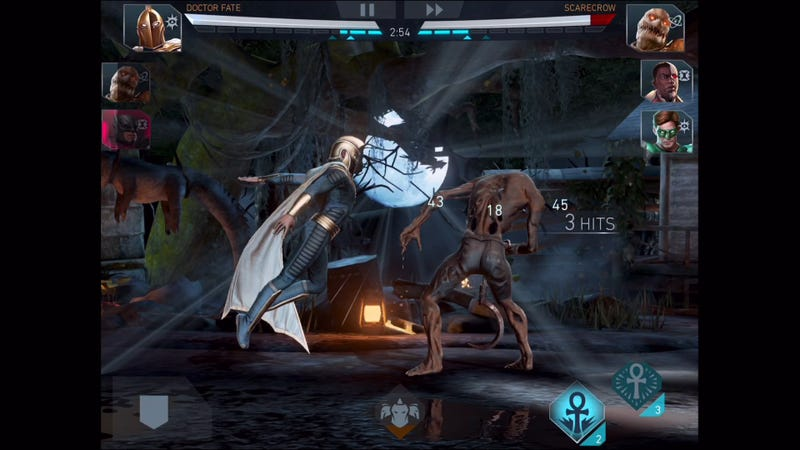 how to play injustice 2 mobile