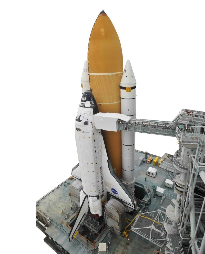 Illustration for article titled Last Shuttle Launched Into Space