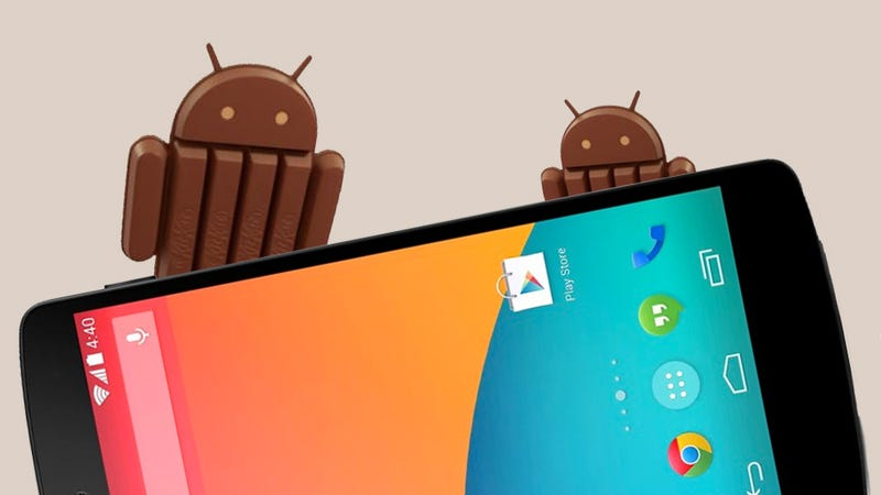 Illustration for article titled Android 4.4 KitKat: An Upgrade For Everyone (Eventually)
