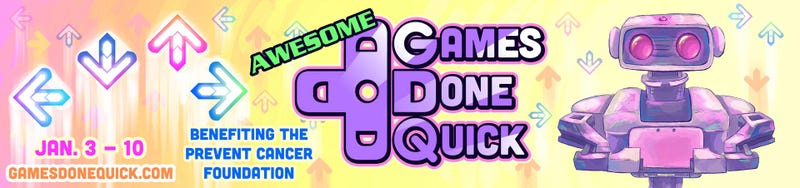 Illustration for article titled Awesome Games Done Quick Starts Now! Let's Watch.