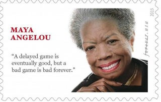 Illustration for article titled More Stuff Maya Angelou Didn't Say