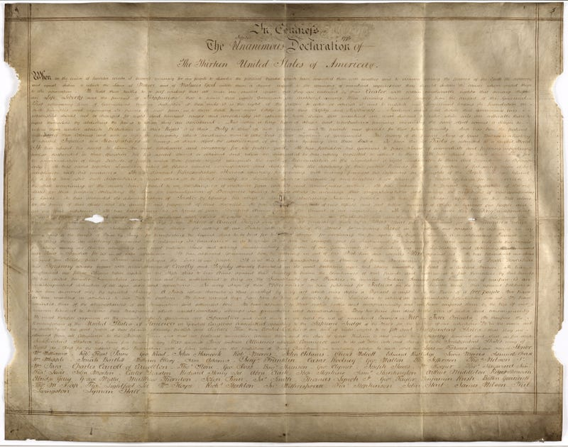 The Sussex Declaration. (Image: West Sussex Record Office Add Mss 8981)