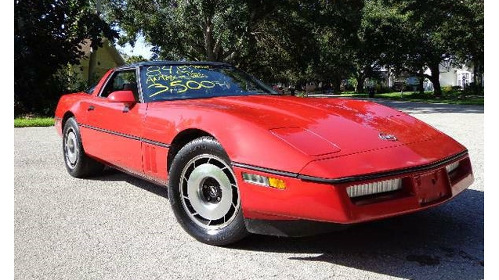 The Most Cougarific C4 Corvette On Craigslist