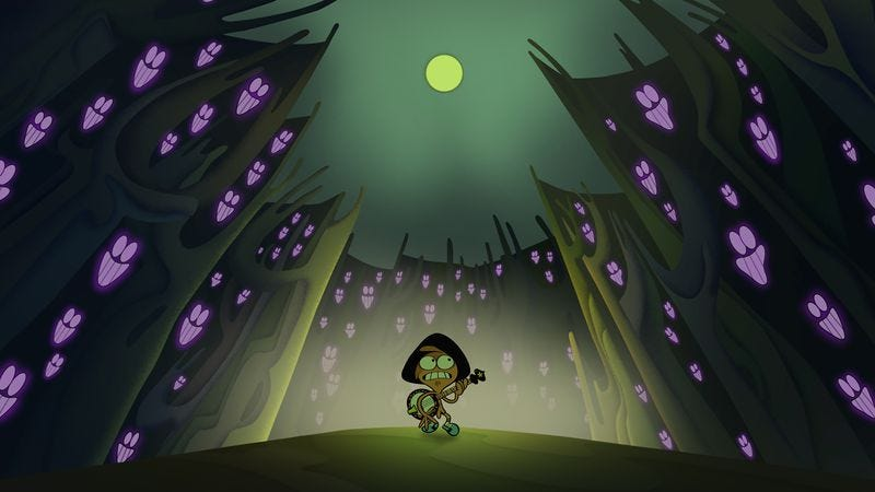 Illustration for article titled Wander Over Yonder's usual mastery in genre parodies comes up surprisingly short