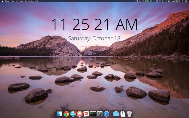 The Very Yosemite Desktop