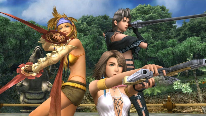Illustration for article titled Final Fantasy X-2 Sure Looks Pretty In High Definition