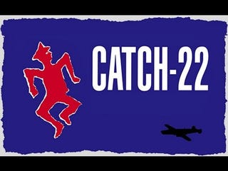 Illustration for article titled Ever Seen Catch-22?