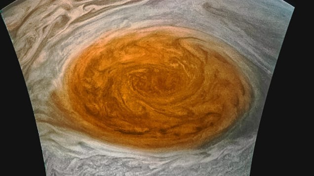 Our Best Look Yet at Jupiter s Great Red Spot Is Finally Here