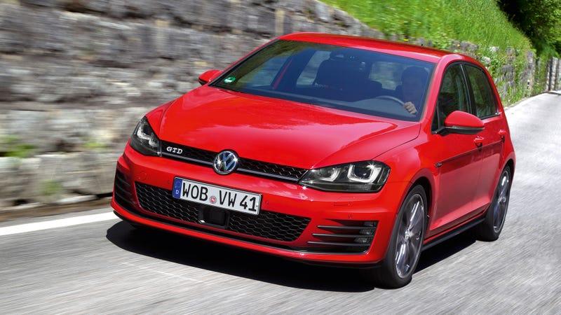 Illustration for article titled 2014 Volkswagen Golf GTD: The 40 MPG+ Diesel Hot Hatch Of Your Dreams
