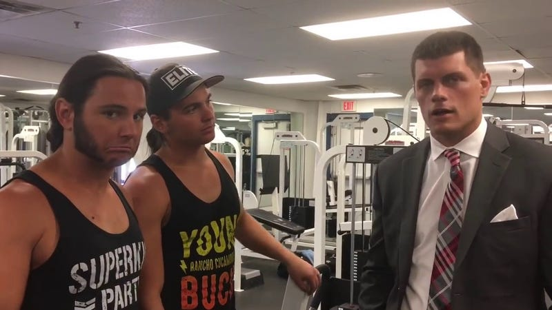 Screenshot (Being the Elite on YouTube)