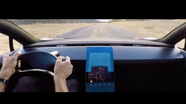 Tesla's New Roadster Is Apparently Going To Have An Absolutely Spartan Interior