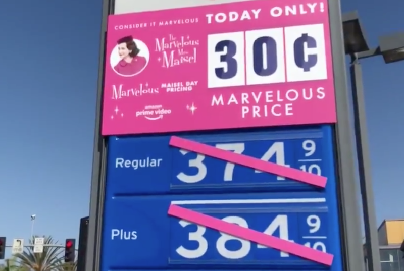 Cheap Mrs. Maisel Gas Made Los Angeles Traffic Even Worse