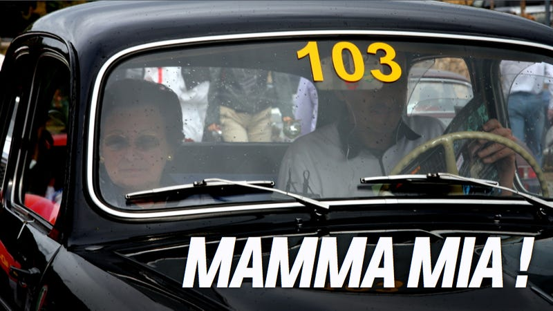 Illustration for article titled How A Little Old Italian Mama In A Fiat Beat Million-Dollar Exotics In One Of The World's Oldest Races
