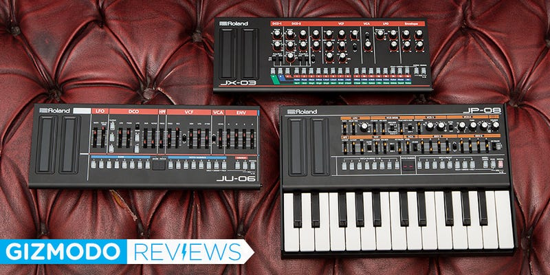 Illustration for article titled Roland Boutique Series Review: Retro Synth Sound for Modern Day Dial Turners