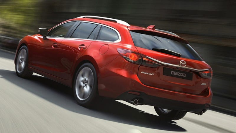 Illustration for article titled Mazda6 Diesel Wagon: Pictures