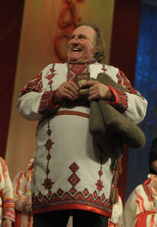 Illustration for article titled Orosz miniszter lehet Gerard Depardieu