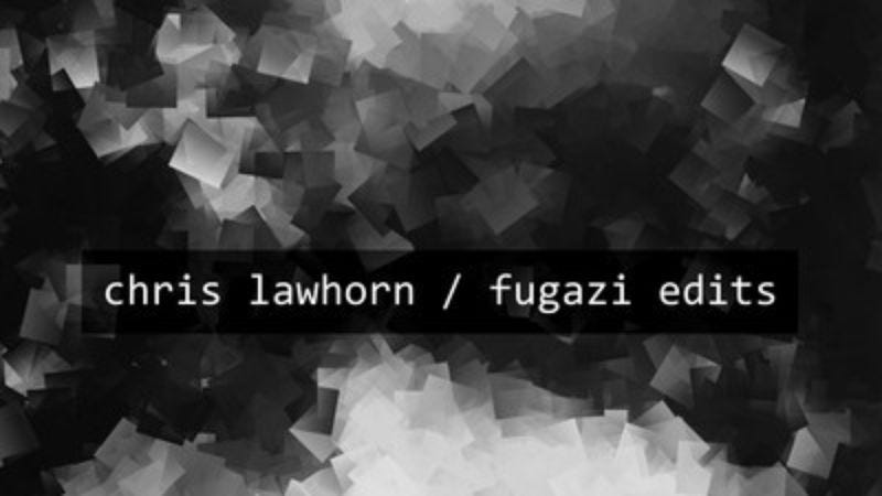 Illustration for article titled Stream Chris Lawhorn's new album made up entirely of Fugazi samples