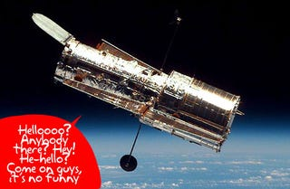 Illustration for article titled Hubble Telescope Communication Breaks Down, Plot Thickens